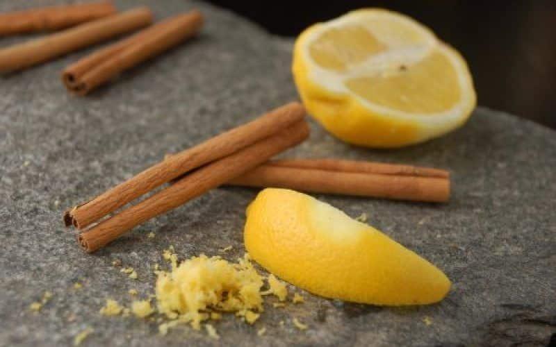 Amarre de Amor con Limón, Azúcar y Canela