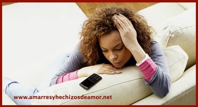 ¿Estar a la espera de que el amarre haga efecto influye sobre el mismo? 3